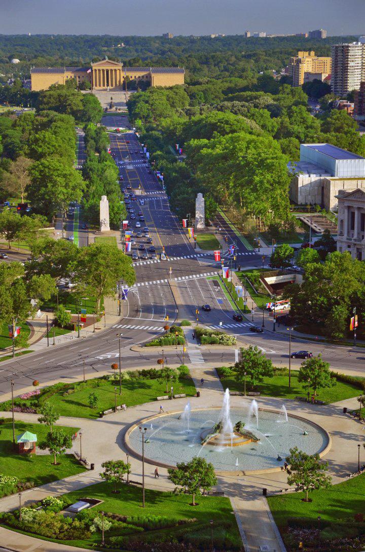 Logan Square Benjamin Franklin Parkway Philadelphia