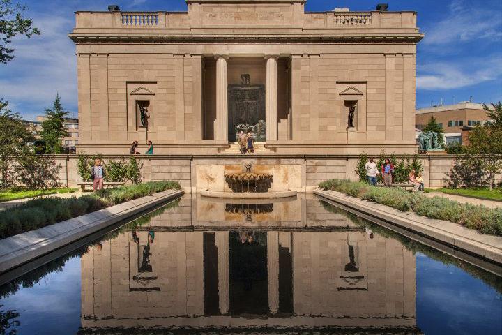 Rodin Museum Garden Philadelphia