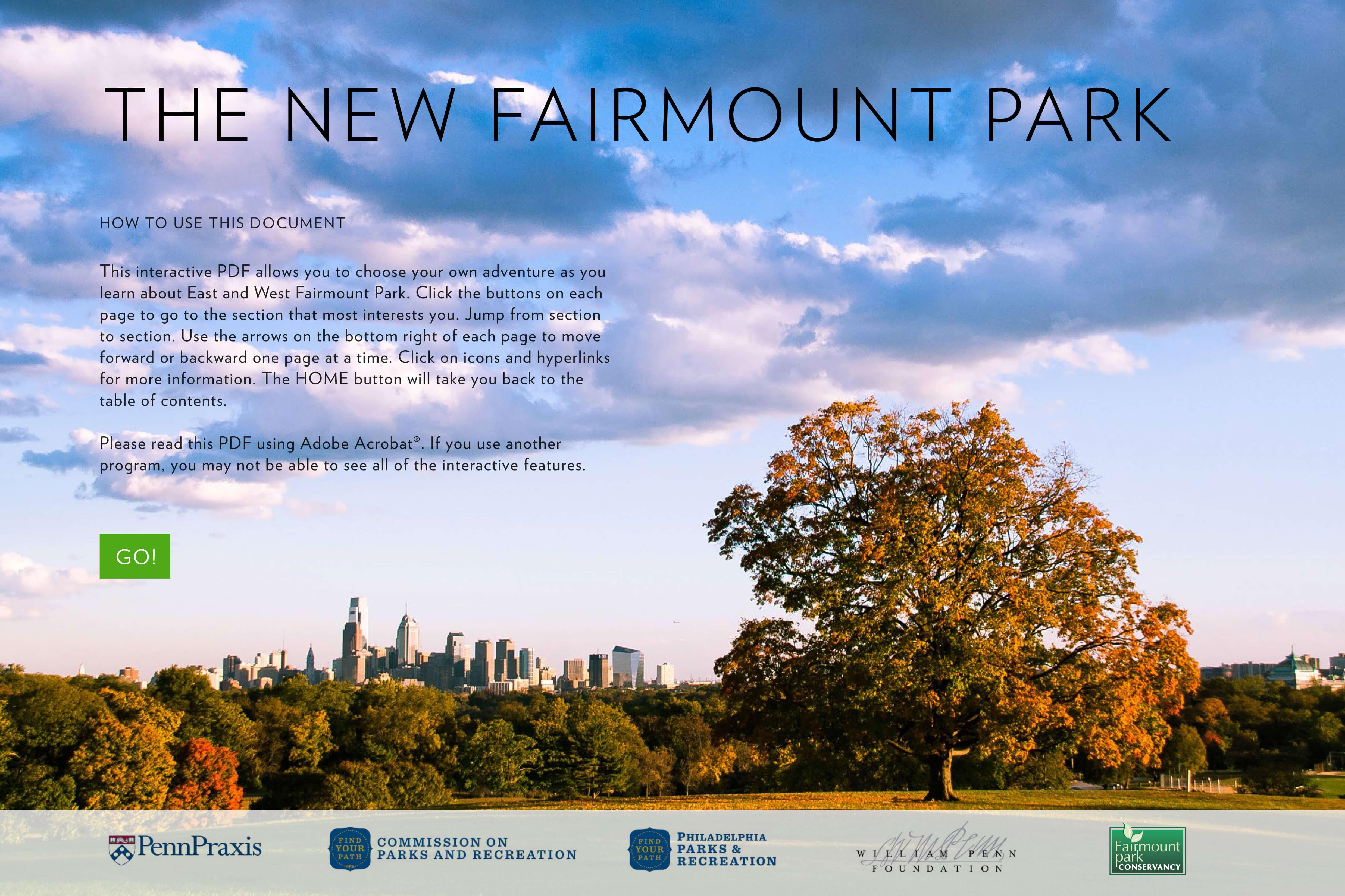 The New Fairmount Park Plan